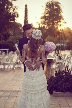 YolanCris | News | Bohemian wedding inspiration. The original boho chic bride