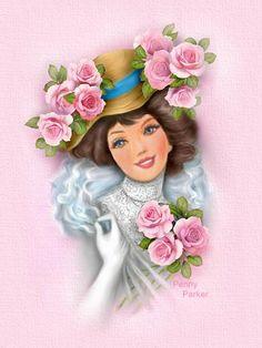 Penny Parker,,,,,,,,,,,,,,http://www.pinterest.com/sherylmyersroch/greeting-fans-/