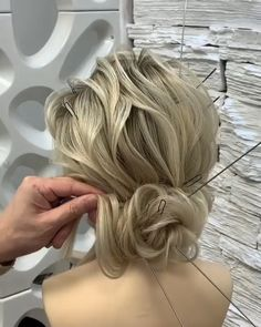Best 12 Hairstyles For Women Bride Hairstyles, Easy Hairstyles, Hair Upstyles, Long Hair Video, Bridal Hair Updo, Textured Hair, Hair Hacks, Hair Makeup, Hair Cuts