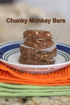 Grain Crazy chunky monkey bars