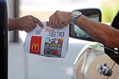McDonald's has launched a two-city test of a mobile application that lets customers order and pay from their smartphones, then pick up their food curbside, in the store or at the drive-thru. The move comes as limited-service chains look for new ways to boost sales, including Chipotle, which already boasts a mobile ordering app, and Burger King, which recently launched a delivery service in some cities.