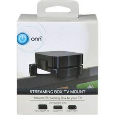 ONN TV Mount for Streaming Box (Apple TV, Amazon TV, Roku, PlaystationTV)