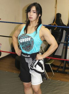 Nakai Rin #muscle #wrestler Butch Girls, Angry Women, Athletic Body, Muscle Girls, Female Athletes, Strong Women, Physique, Bodybuilding, Sporty