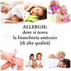 Allergie: dove si trova la biancheria anticaro