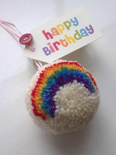 Would make a great birthday gift tag!