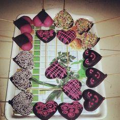 Chocolate pops.