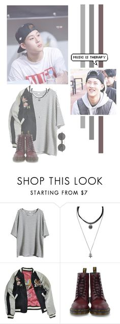 """""""Lee Jooheon"""" by lazy-alien ❤ liked on Polyvore featuring Forever 21, Isabel Marant, Dr. Martens, Chicnova Fashion, Jooheon, monstax and LeeJooheon"""