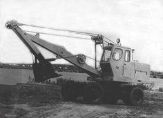 Тросовый экскаватор Э-302