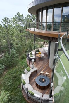 The Round House  Colorado Springs, CO #Architecture I like the Wonderful surrounding view !
