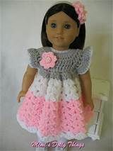 free crochet patterns for american girl doll clothes - Yahoo Image Search…