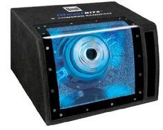 Dual SBP8A 160 Watts Single 8-Inch Amplified Bandpass (Black)