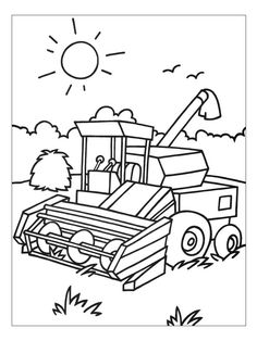 Tractor Trailer Coloring Pages. 20 Tractor Trailer Coloring Pages. Tractor Trailer Coloring Pages Hellokids Tractor Coloring Pages, Zoo Animal Coloring Pages, Coloring Book Pages, Printable Coloring Pages, Coloring Pages For Kids, Coloring Sheets, Harry Potter Coloring Book, Harry Potter Colors, Toddler Coloring Book