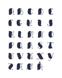 Font Design by Rasmur Boesen