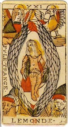 Jean Dodal Tarot trump 21 - Tarot of Marseilles - Wikipedia