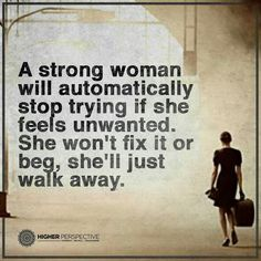 A strong woman....