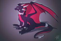 Depth (Cynder the dragon) by Epic-Starzz on DeviantArt