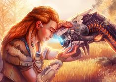 Horizon Zero Dawn: Well Done Little One by Risachantag.deviantart.com on @DeviantArt
