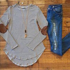 For @afgirlie729 ✨ Striped top in L, vest in L, and kimono in M/L Tops