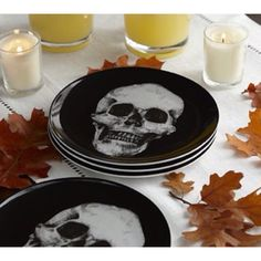 unique dish set skull cross bones gothic plates mugs matched halloween spooky gothic decor pinterest kitchens dish sets and gothic