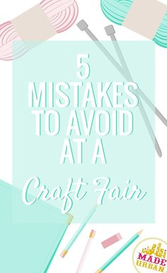 A few aspects you may not have thought about that can have an impact on your sales. I've seen many vendors at craft fairs making these mistakes as they're easy to do | Made Urban