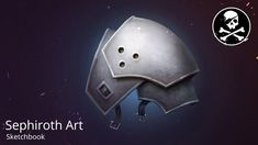 Final Fantasy VII Sephiroth Shoulder Armor ★ Drawing Process | by Sephir...