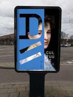 Studio Dumbar, graphic design, poster, typography
