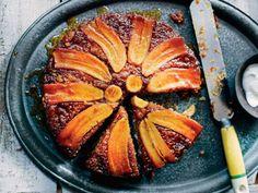 Banana Upside-Down Cake Recipe | Food Republic
