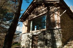 Check out this awesome listing on Airbnb: Chalet KRENE - Atmosfera - Cabins for Rent in Chiavenna