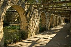 Archways at the Alamo