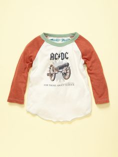 Rowdy Sprouts AC/DC Tee