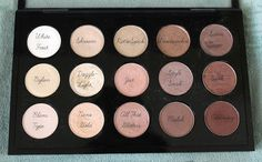 Zoella : My Mac Palettes To fill a whole mac palette Palette Mac, Mac Eyeshadow Palette, Eyeshadow Makeup, Love Makeup, Beauty Makeup, Mac Make Up, Zoella Beauty, Zoella Hair, Mac Shadows