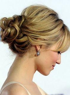 Cute updo wedding hair vintage plaits | Hairstyles | Pinterest ...