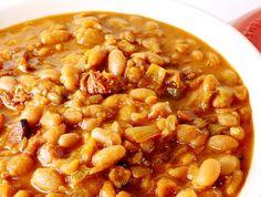 Recept za Čorbast pasulj sa suvim rebrima i slaninom! Kako se sprema najbolji domaći čorbasti pasulj na svetu! Sastojci i priprema, zaprška i kuvanje