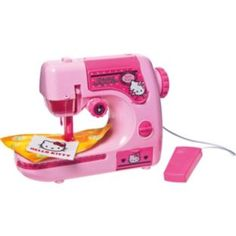 Buy Hello Kitty Sewing Machine at Argos.co.uk - Your Online Shop for Hello Kitty toys, Arts, crafts and creative toys.