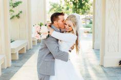 Gilbert Temple Wedding - LDS Bride - modest wedding dress