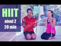 Ejercicios nivel 2 moderado cuerpo atlético | 20 minutos cardio rutina M...