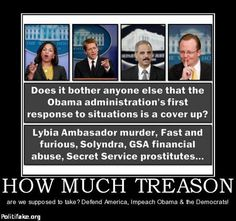 If we had a REAL MEDIA - that reported NEWS and not just bias - OBAMA would already be on trial for TREASON!