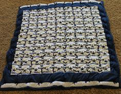 NFL Dallas Cowboys Baby Quilt Ready to by HollysHandtiedQuilts