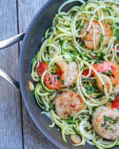 Shrimp And Scallop Zucchini Noodle Scampi via @feedfeed on https://thefeedfeed.com/spiralized/marnely_murray/shrimp-and-scallop-zucchini-noodle-scampi