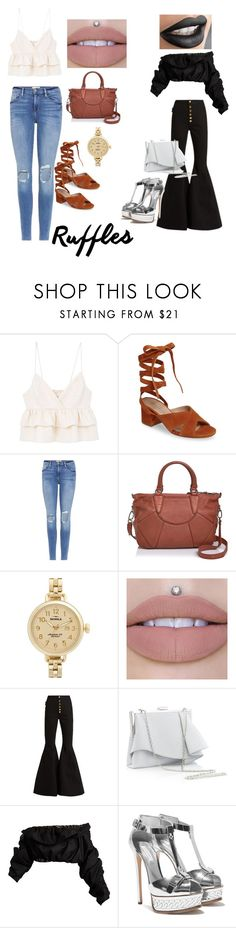 """Untitled #175"" by ericap61720 ❤ liked on Polyvore featuring MANGO, Charles David, Frame, Liebeskind, Shinola, E L L E R Y and Coast"