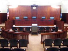 Shitty courtroom