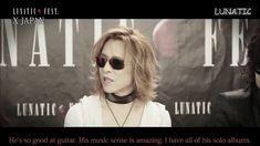 [Eng Sub] X JAPAN Talk about SUGIZO & LUNA SEA l LUNATIC FEST 2015