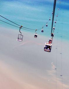 Hong Kong - cable car to Big Buddha