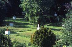 51 Garden Ornaments, Dörentrup, Germany. Art Commission by Martha Schwartz. www.marthaschwartz.com