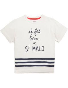 T-shirt manches courtes imprimé MONOPRIX Artwork Florence Aurensan