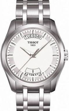 T035.407.11.031.00, T0354071103100, Tissot couturier automatic watch, mens
