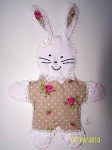 patroon knuffel konijn zelf maken