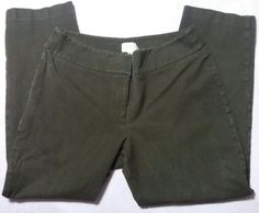 Chico's Stretch Pants Size 1.5 Short UPS Brown Dark Cocoa Womens 25 inseam Free Shipping  25 inseam.  Dark brown like Hershey or ups....   https://nemb.ly/p/Ny=GZUBpb Happily published via Nembol