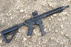 """JP 9mm carbine that uses Glock 17 mags.  I'm thinking one of these in a pistol configuration with a 10"""" bbl and a Sig brace."""