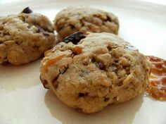 Martha Stewart's Oatmeal cookie with toffee bits, cherries, and chocolate.  These are the bomb!! Always a huge hit whenever I make them.